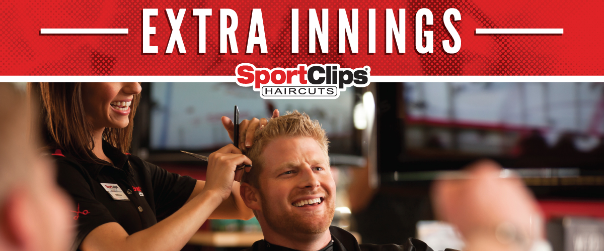 The Sport Clips Haircuts of College Station Extra Innings Offerings